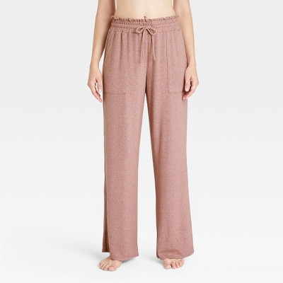 Women's Perfectly Cozy Wide Leg Lounge Pants - Stars Above™ Mauve