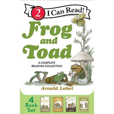 Frog and Toad: A Complete Reading Collection - (I Can Read Level 2) by  Arnold Lobel (Paperback)