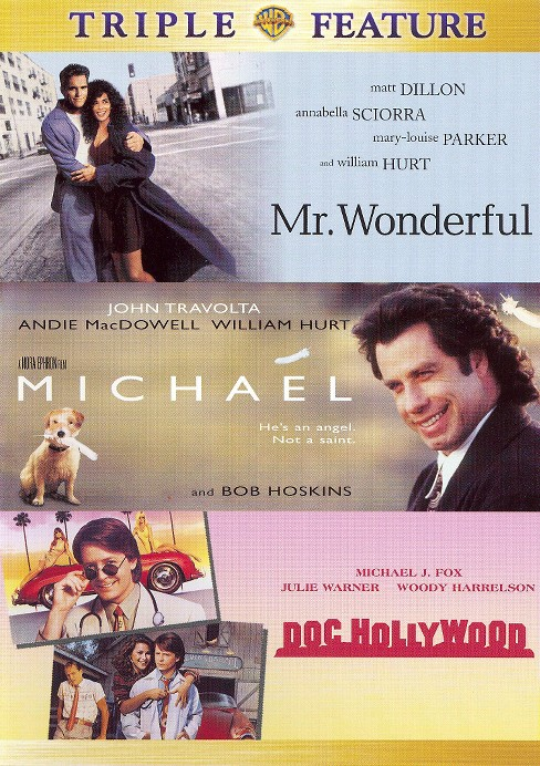 Triple Feature: Mr. Wonderful/Michael/Doc Hollywood (2 Discs) (dvd_video) - image 1 of 1