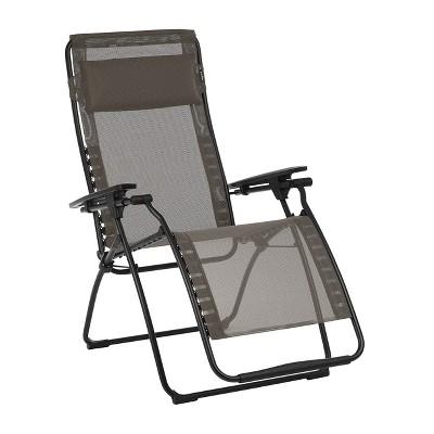 Lafuma LFM3118-8717 Futura Batyline Series Relaxation Chair Recliner, Graphite