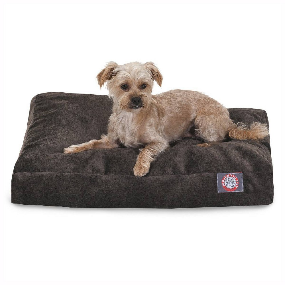 Majestic Pet Villa Collection Rectangle Dog Bed Storm Brown Extra Large Xl