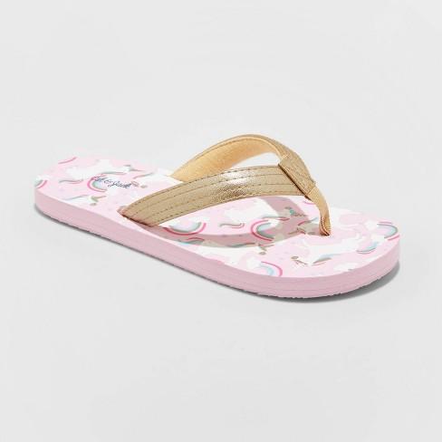 Girls' Alissa Flip Flop Sandals - Cat & Jack™ - image 1 of 3