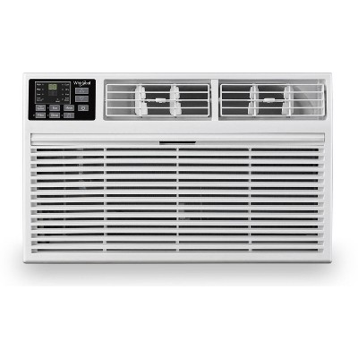 Whirlpool 12,000 BTU 230V Through the Wall Air Conditioner WHAT121-HAW with 10,600 BTU Supplemental Heating
