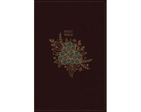 Holy Bible : King James Version, Reference, Personal Size Giant Print, Imitation Leather, Burgundy, Red - image 1 of 1