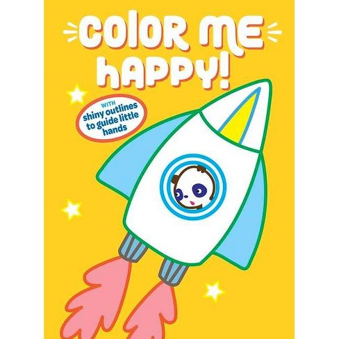 Color Me Happy! Yellow - (Paperback) - image 1 of 1