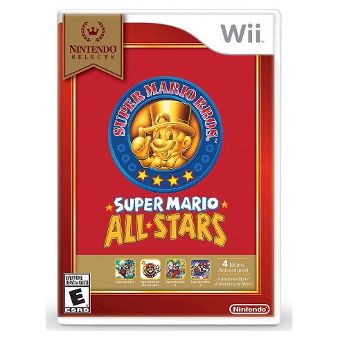 Nintendo Selects: Super Mario All-Stars Nintendo Wii - image 1 of 1