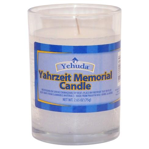 Yahrzeit Memorial 2.65oz - Yehuda - image 1 of 1