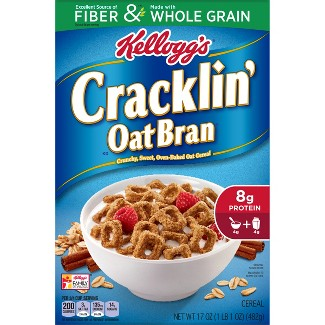 Cracklin Oat Bran Breakfast Cereal - 17oz - Kelloggs