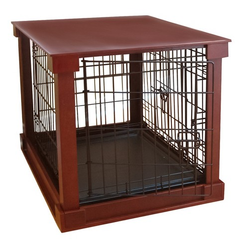 Dogs Cage with Crate Cover - Mahogany - image 1 of 3