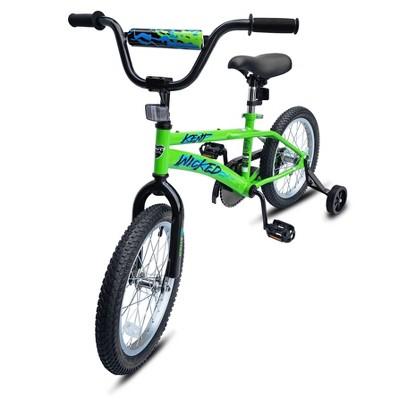 """Kent Wicked 16"""" Kids' Bike - Green"""