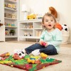 Melissa & Doug Take-Along Farm Baby and Toddler Play Mat - image 2 of 4