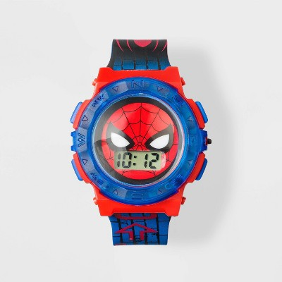 Boys' Marvel Spider-Man Watch - Blue