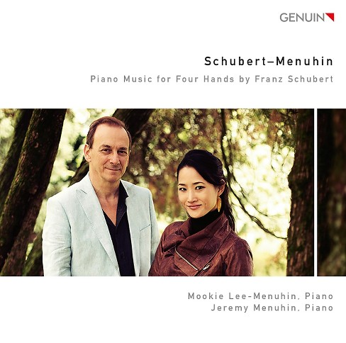 Mookie lee-menuhin - Piano music for four hands by franz s (CD) - image 1 of 1