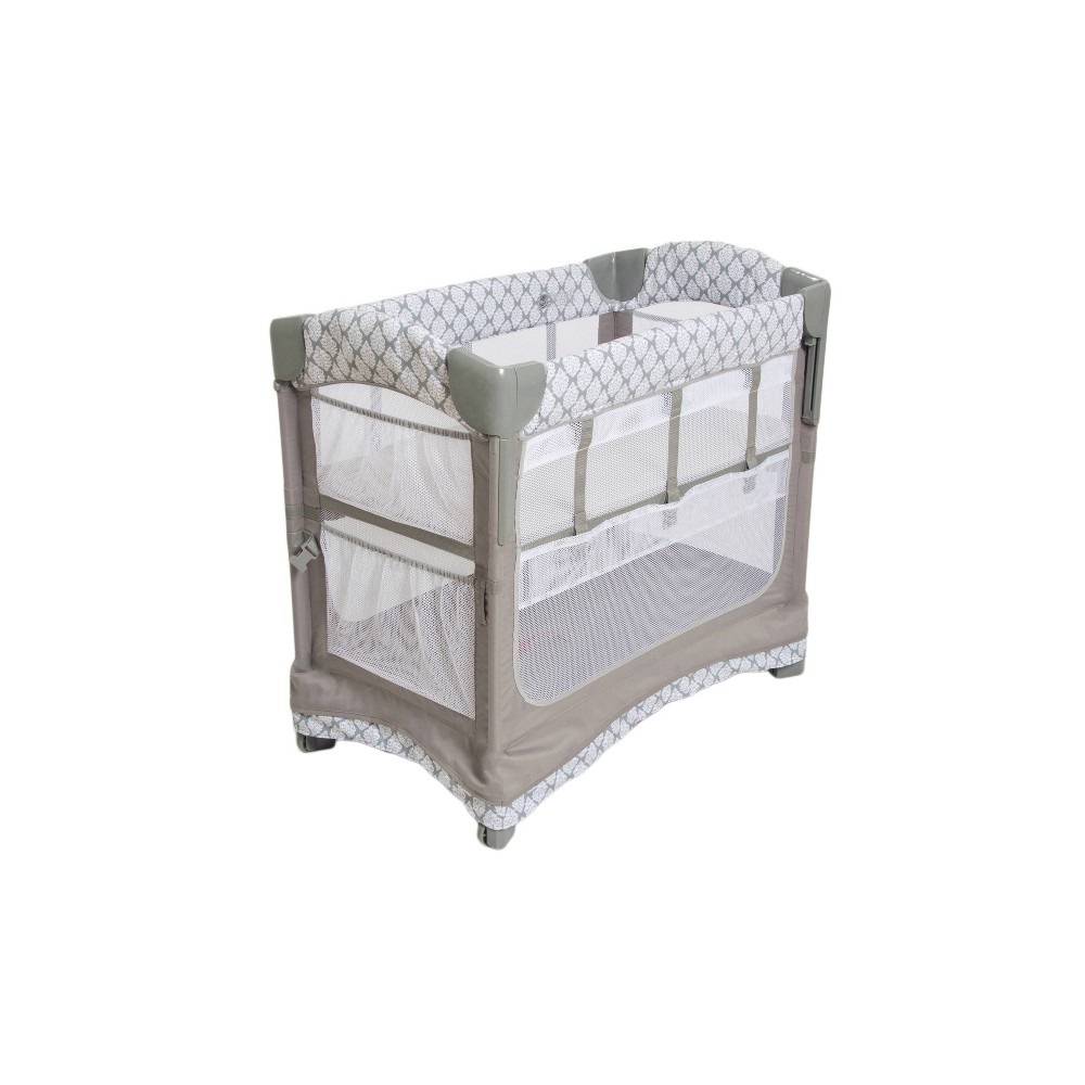 Image of Arms Reach Mini 3-in-1 Ezee Co-Sleeper Bassinet - Acanthus