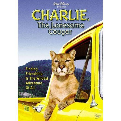 Charlie, The Lonesome Cougar (DVD) - image 1 of 1
