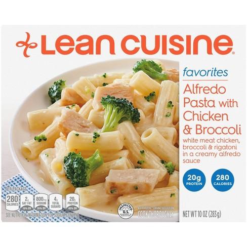 Lean Cuisine Frozen Simple Favorites Frozen Alfredo Pasta with Chicken & Broccoli - 10oz - image 1 of 4