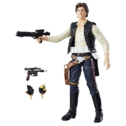 Star Wars Han Solo Action Figure The Black Series 40th Anniversary - image 1 of 8