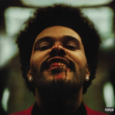 The Weeknd - After Hours (Clear with Red Splatter)(EXPLICIT LYRICS)(Vinyl)