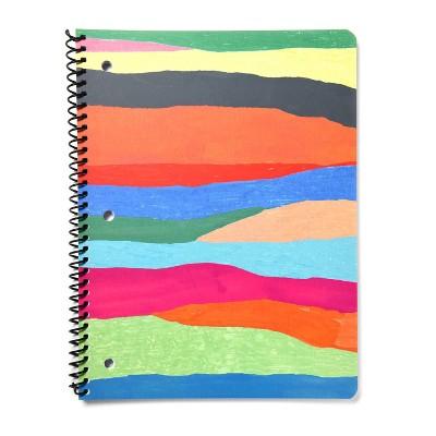 Spiral Notebook 1 Subject Wide Ruled Primary Stripes - Gartner Studios