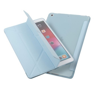 "Insten - Tablet Case for iPad Pro 10.2"" 2019 & 2020, Gen 7 & 8, Multifold Stand, Magnetic Cover Auto Sleep/Wake, Pencil Charging, Blue"