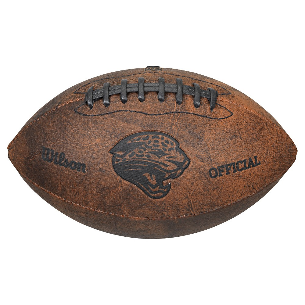 Jacksonville Jaguars Wilson 9 Inch Throwback Football