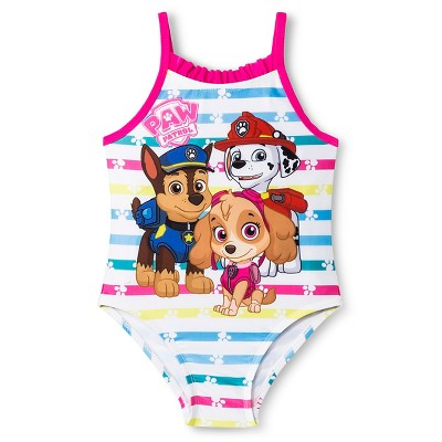 c4fbe391f21d6 Paw Patrol Toddler Girls 1-Piece Swimsuit – Pink 5T – Target ...
