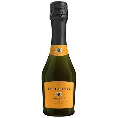 Ruffino Prosecco DOC Italian White Sparkling Wine - 187ml Bottle