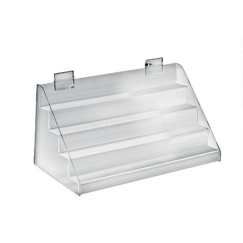 """Azar Displays 16""""x 8""""x 8"""" Four Tier Counter Step Display - image 1 of 1"""