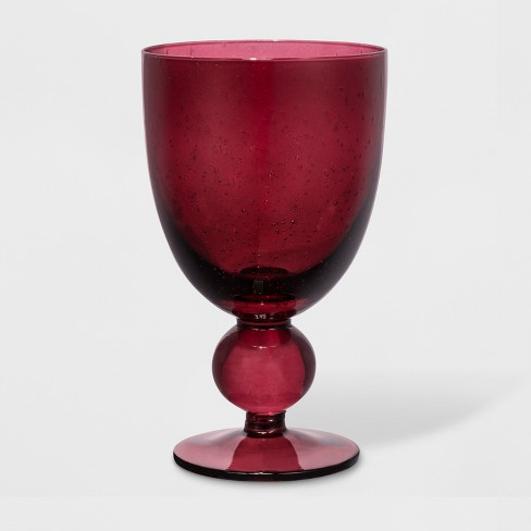 16.7oz Glass Wine Goblet - Threshold™ - image 1 of 1