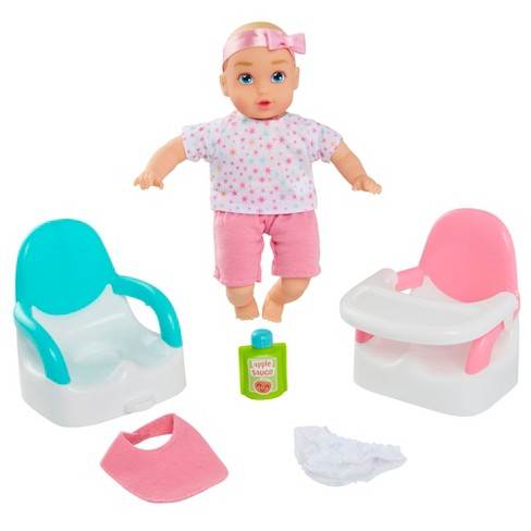 """Perfectly Cute My Lil' Baby Feed & Go 8"""" Baby Doll 8pc Set - image 1 of 4"""