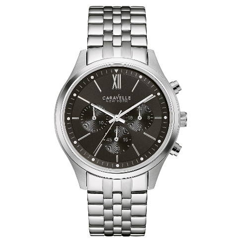 Caravelle New York by Bulova Men's Chronograph Stainless Steel Bracelet Watch - 43A133 - image 1 of 1