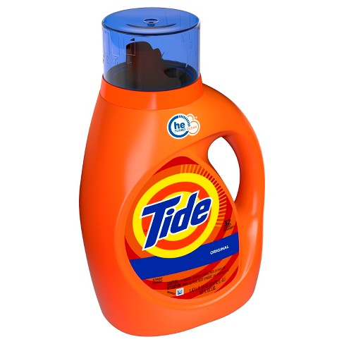 Tide Liquid Laundry Detergent High Efficiency Original 50 oz - image 1 of 3