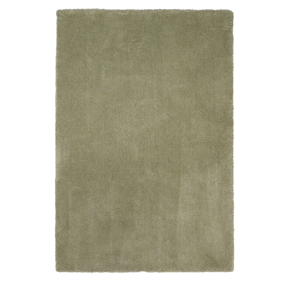 Sage Solid Woven Area Rug 3'3
