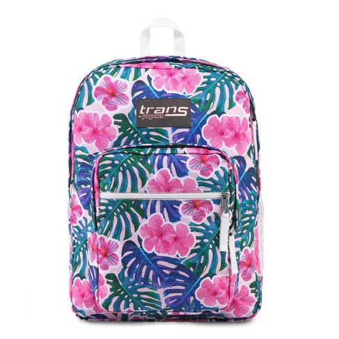 "Trans by JanSport 17"" Supermax Backpack - Monstera Vibes - image 1 of 4"
