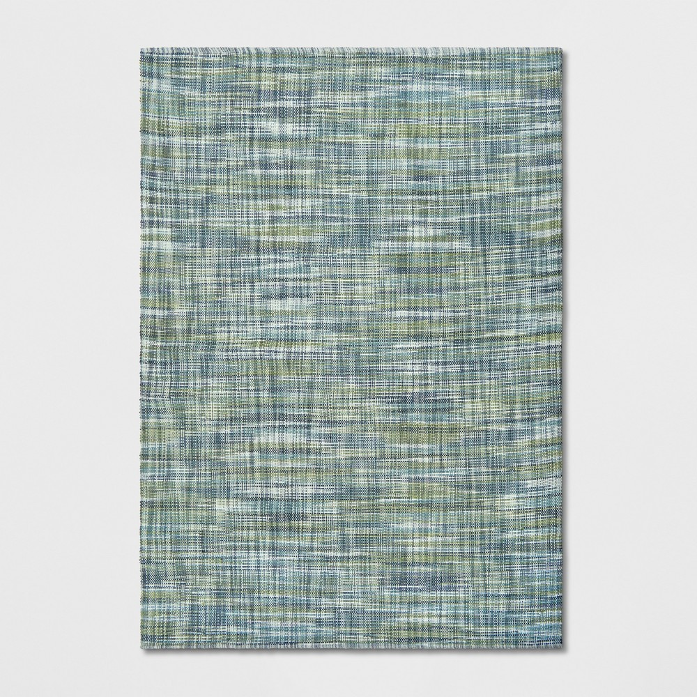 7'X10' Basketweave Tie Dye Design Area Rug Green - Project 62 was $249.99 now $124.99 (50.0% off)