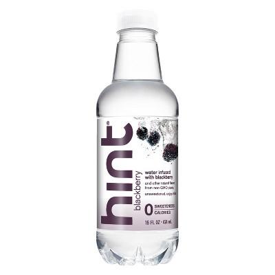 hint Blackberry Infused Water - 16 fl oz Bottle