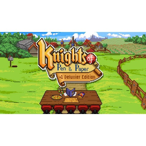Knights of Pen & Paper + 1 Deluxier Edition - Nintendo Switch (Digital) - image 1 of 4