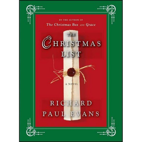 The Christmas List (Hardcover) by Richard Paul Evans - image 1 of 1