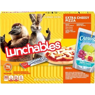 Oscar Mayer Vegetarian Lunchables Extra Cheesy Pizza - 10.6oz