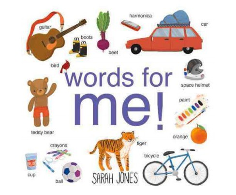 Words for Me! (Hardcover) (Sarah Jones) - image 1 of 1