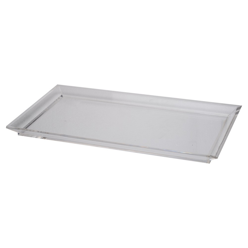 Image of Acrylic Westby Rectangular Tray - Medium - A&b Home, Clear