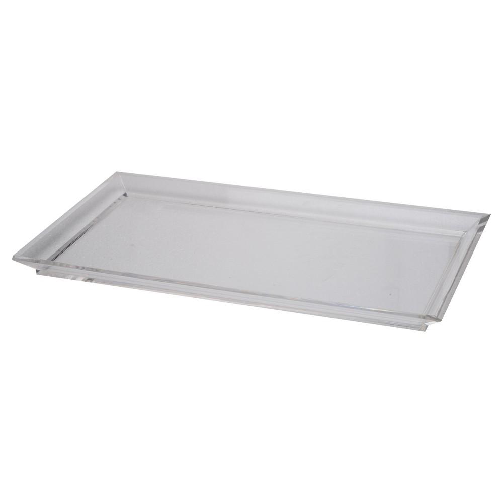 Acrylic Westby Rectangular Tray - Medium - A&b Home, Clear
