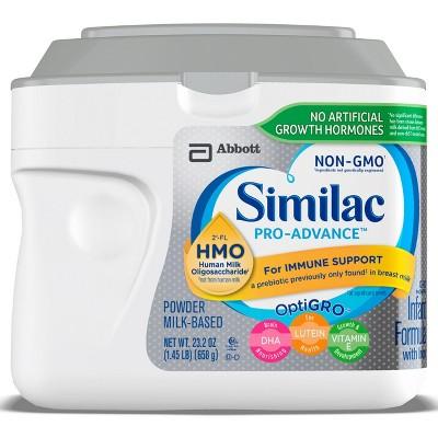 Similac Pro-Advance (HMO)Non-GMO Infant Formula Powder - 23.2oz