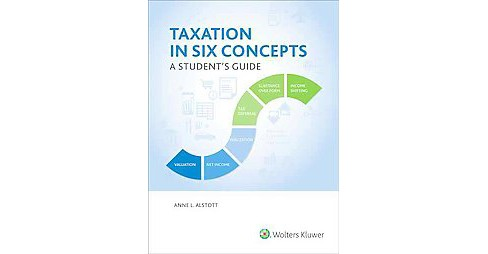 Taxation in Six Concepts : A Student's Guide (Paperback) (Anne L. Alstott) - image 1 of 1