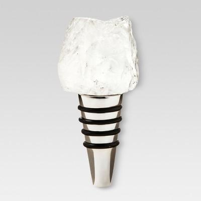 Bottle Stopper White/Gray Marble - Threshold™
