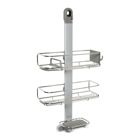 Adjustable Shower Caddy Silver - simplehuman - image 1 of 1