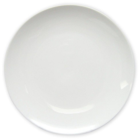 """10"""" Stoneware Coupe Dinner Plate White - Project 62™ - image 1 of 1"""