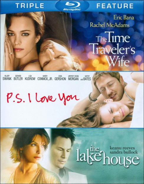 Time traveler's wife/Ps i love you/La (Blu-ray) - image 1 of 1
