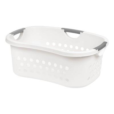 IRIS Comfort Carry Laundry Basket - White