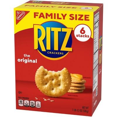 Ritz Crackers Original - Family Size - 20.6oz